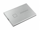 Твердотельный накопитель Samsung SSD 2TB T7 Touch, USB Type-C, R/ W 1000/ 1050MB/ s, Silver (MU-PC2T0S/WW)