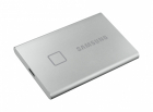 Твердотельный накопитель Samsung SSD 500GB T7 Touch, USB Type-C, R/ W 1000/ 1050MB/ s, Silver (MU-PC500S/ WW)