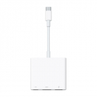 Адаптер Apple USB-C Digital AV Multiport Adapter, 2nd Generation (rep.MJ1K2ZM/ A) (MUF82ZM/ A)