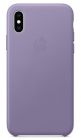 Чехол для iPhone XS iPhone XS Leather Case - Lilac (MVFR2ZM/ A)