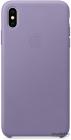 Чехол для iPhone XS Max iPhone XS Max Leather Case - Lilac (MVH02ZM/ A)
