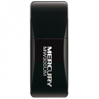 MERCUSYS MW300UM 300Mbps Wireless N Mini USB Adapter, Realtek, Mini Size, 2T2R, 2.4GHz, 802.11b/ g/ n, USB 2.0, 2 intern .... (MW300UM)