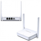 MERCUSYS MW301R 300Mbps Wireless N Router, 1 10/ 100M WAN + 2 10/ 100M LAN, 2 fixed antennas (MW301R)
