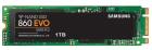 Твердотельный накопитель SSD M.2 2280 (SATA) 1Tb Samsung 860 EVO (R550/W520MB/s) (MZ-N6E1T0BW) (MZ-N6E1T0BW)