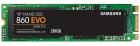 Твердотельный накопитель SSD M.2 2280 (SATA) 250 Gb Samsung 860 EVO (R550/W520MB/s) (MZ-N6E250BW) (MZ-N6E250BW)