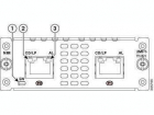 Модуль NIM-2MFT-T1/E1=