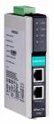 Ethernet сервер последовательных интерфейсов, 1xRS-232/ 422/ 485, с каскадированием (2xEthernet, 1 IP-адрес) (NPORT IA-5150)