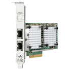 Сетевой адаптер HPE Ethernet Adapter, QL41132HLRJ, 2x10Gb BASE-T, PCIe(3.0), Marvell, for DL325/ DL385/ Microserver Gen1 .... (P08437-B21)
