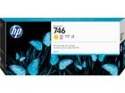 Картридж HP 746 300-ml Yellow Ink Cartridge для HP DesignJet Z6/ Z9+ series, желтый (P2V79A)