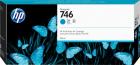 Картридж HP 746 300-ml Cyan Ink Cartridge для HP DesignJet Z6/ Z9+ series, голубой (P2V80A)