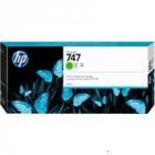 Картридж HP 747 300-ml Chromatic Green Cartridge для HP DesignJet Z9+, хроматический зеленый (P2V84A)