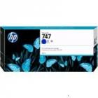 Картридж HP 747 300-ml Chromatic Blue Cartridge для HP DesignJet Z9+, хроматический синий (P2V85A)