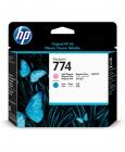 "Печатающая головка HP 774 Light Magenta/ Light Cyan Printhead для HP DesignJet Z6810 series/ Z6610 60"" (P2V98A)"