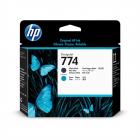 """Печатающая головка HP 774 Matte Black/ Cyan Printhead для HP DesignJet Z6610 60"""" (P2W01A) (P2W01A)"""