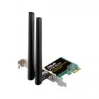 Адаптер ASUS PCE-AC51 / / WI-FI 802.11ac, 300 + 433 Mbps PCI-E Adapter, 2 антенны ; 90IG02S0-BO0010 (PCE-AC51)