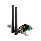 Адаптер ASUS PCE-AC51 // WI-FI 802.11ac, 300 + 433 Mbps PCI-E Adapter, 2 антенны ; 90IG02S0-BO0010 (PCE-AC51)