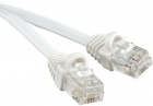 Hyperline PCM-RJ12-RJ12-3M-WH Патч-корд телефонный, molded (литой), 3 м, белый (PCM-RJ12-RJ12-3M-WH)