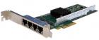 Сетевая карта Silicom PE2G4I35L Quad Port Copper Gigabit Ethernet PCI Express Server Adapter X4, Based on Intel i350AM4, .... (PE2G4I35L)