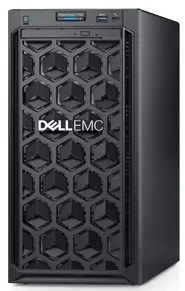 Сервер DELL PowerEdge T140 4LFF Cabled / 1xE-2224/ 1x16GB UDIMM/ S140 Only SATA RAID / 1x2TB SATA 7.2k/ 2xGE/ 365W/ iDRA .... (PET140RU1-05)