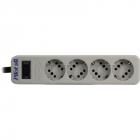 Сетевой фильтр Pilot SG 4 розетки (GP с заземлением), 10А/ 2.2кВа, автомат, 3 м Surge protector Pilot SG 4 outlets (GP), .... (Pilot SG 3M)