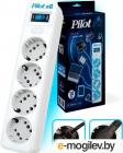 Сетевой фильтр Pilot SG 4 розетки (GP с заземлением), 10А/ 2.2кВа, автомат, 7 м Surge protector Pilot SG 4 outlets (GP), .... (Pilot SG 7M)