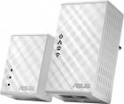 ASUS PL-N12 // адаптер сети через розетку, до 300Mbps Wi-Fi Powerline Extender, 802.11n, LAN ; 90IG01V0-BO2100 (PL-N12)