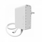 Powerline-адаптер MikroTik PWR-LINE power supply (supports Data over Powerlines) with microUSB connector, Type C plug (c .... (PL7400)
