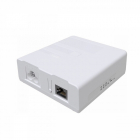 Powerline-адаптер MikroTik PWR-LINE PRO (supports Data over Powerlines), one Gigabit Ethernet port with PoE-out, removab .... (PL7510GI)