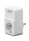 Сетевой фильтр APC Essential SurgeArrest 1 outlet 230V Russia. (PM1W-RS) (PM1W-RS)
