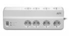 Сетевой фильтр APC Essential SurgeArrest 8 outlets 230V Russia (PM8-RS) (PM8-RS)