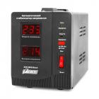 Стабилизатор POWERMAN AVS 500D, ступенчатый регулятор, цифровые индикаторы уровней напряжения, 500ВА, 140-260В, максимал .... (POWERMAN AVS 500D)