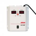 Стабилизатор POWERMAN AVS 500P, ступенчатый регулятор, цифровые индикаторы уровней напряжения, 500ВА, 110-260В, максимал .... (POWERMAN AVS-500P)