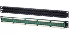 Hyperline PP-19-50-8P8C-C5-110D Патч-панель 19'', 1U, 50 портов RJ-45, категория 5, Dual IDC (комп. раскладка, 2 пары на .... (PP-19-50-8P8C-C5-110D)