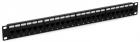 Hyperline PP3-19-24-8P8C-C5E-110D Патч-панель 19'', 1U, 24 порта RJ-45, категория 5e, Dual IDC, ROHS, цвет черный (PP3-19-24-8P8C-C5E-110D)