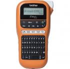 Принтер наклеек ручной brother PT-E110VP TZE 3, 5/6/9/12 mm, 20 mm/sec, cutter, LCD, handheld, case, PSU (PTE110VPR1)