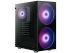Корпус Aerocool Python (ATX, без БП, Tempered Glass, 1x USB3.0, 2x USB2.0, 2x 20cm A.RGB fans) (PYTHON)
