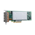 Сетевой адаптер QLogic QLE2694L 16Gb Quad Port FC HBA, x8 PCIe Gen3, LC multi-mode optic - Low Profile (QLE2694L-CK)
