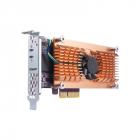 Плата расширения QNAP QM2-4P-384 Quad M.2 PCIe SSD expansion card; supports up to four M.2 2280 formfactor M.2 PCIe (Gen .... (QM2-4P-384)