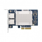 Сетевая карта QNAP QXG-5G2T-111C PCIe Gen3 x2, Dual-port 4-speed 5 GbE network expansion card (5Gbps/ 2.5Gbps/ 1Gbps/ 10 .... (QXG-5G2T-111C)