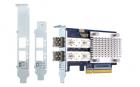 Сетевая карта QNAP QXP-16G2FC Dual-port Fiber Channel adapter, 2 x 16 Gb / s SFP +, PCIe Gen3 x8. For QTS OS ONLY (QXP-16G2FC)