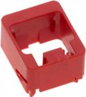 Элемент блокировки для системы безопасности R&M- замок порта панели HD, красный (R512759)