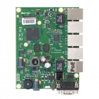 Маршрутизатор MikroTik RouterBOARD 450Gx4 with four core 716MHz Atheros CPU, 1 GB RAM, 5 Gigabit LAN ports, PoE OUT on p .... (RB450GX4)