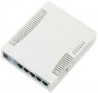 Точка доступа wi-fi MikroTik RouterBOARD 951G-2HnD with 600Mhz CPU, 128MB RAM, 5xGbit LAN, built-in 2.4Ghz 802b/ g/ n 2x2 .... (RB951G-2HND)