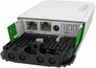 Точка доступа MikroTik wAP R ac with four core 710MHz CPU, 128MB RAM, 2x Gigabit LAN, built-in 2.4Ghz 802.11b/ g/ n Dual .... (RBWAPGR-5HACD2HND)