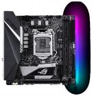 Материнская плата ASUS ROG STRIX B360-I GAMING, LGA1151, B360, 2*DDR4, HDMI+DVI, SATA3, Audio, Gb LAN, USB 3.1*6, USB 2. .... (ROG STRIX B360-I GAMING)