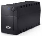 Источник бесперебойного питания Powercom Raptor, Line-Interactive, 1000VA/ 600W, Tower, Schuko (RPT-1000A-EURO)