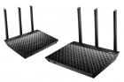 RT-AC67U 2pack AiMesh AC1900 WiFi System (RT-AC67U 2PACK AIMESH AC1900 W)