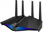 ASUS RT-AX82U / / роутер 802.11b/ g/ n/ ac/ ax, до 574 + 4804Мбит/ c, 2, 4 + 5 гГц, 4 антенны, USB, GBT LAN ; 90IG05G0-M .... (RT-AX82U)