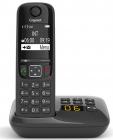 Беспроводной телефон GIGASET AS690 AM black (S30852-H2836-S301)