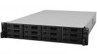 Система хранения данных Synology Rack 2U Unified DualCont Array (QC2, 4GhzCPU/ 8Gbupto64/ 2x1GbE+1x10GbERJ45(+1xExpSlot) .... (SA3200D)